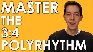 Download POLYRHYTHM- Learn and MASTER 3:4 and 4:3 [MUSIC THEORY - RHYTHM- COUNTING] Video