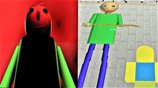 Download IT'S A GARGANTUAN BALDI!!   The Weird Side of Roblox: Baldi's Basics Obby Video