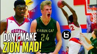 Download Zion Williamson Gets HECKLED & RESPONDS w/ BLOCK Party! Video