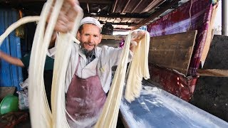 Download Incredibly RARE Muslim Street Food in DEEP China | SILK ROAD Street Food Series! Video
