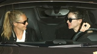 Download Cara Delevingne Picked Up By Rumored Fiance St Vincent Video
