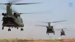 Download Les hélicoptères Chinook de la MINUSMA Video