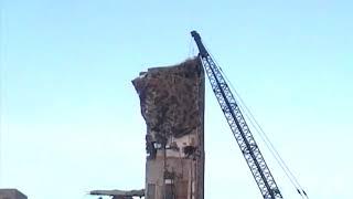 Download Demolition. Wrecking ball. Elevator shaft. 71-RB. Bucyrus. Part 7 Video