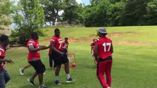 Download Opelika Bulldog Football Players Doing The Running Man Challenge Video