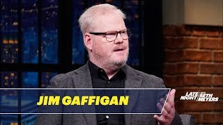 Download Jim Gaffigan Told Jokes About His Wife's Brain Tumor Video