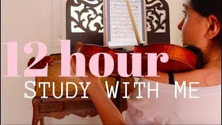 Download Study With Me | 12 hour Study Day Video
