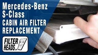 Download How to Replace Cabin Air Filter Mercedes-Benz S-class Video