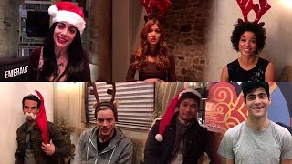 Download Shadowhunters cast: Christmas Or Thanksgiving Dinner - Which Is Better? Video
