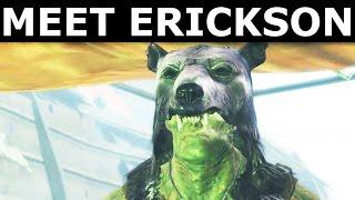 Download Fallout 4 Far Harbor - Meet Erickson Friendly Super Mutant (Dog Trainer) | Buy Dogs For Settlement Video