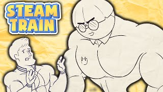 Download Steam Train Animated - Dinkles the Buff Nerd - by Rubberninja Video