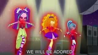Download Welcome to the Show [With Lyrics] - My Little Pony Equestria Girls Rainbow Rocks Song Video