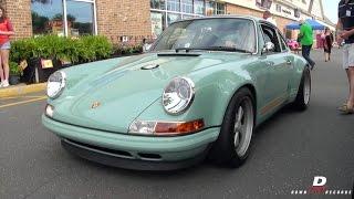 Download Singer Porsche 911 & Porsche Carrera GT - Revs // Sound Video