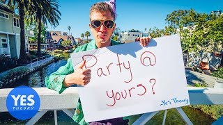 Download Asking Strangers to Throw a Party at their House Video