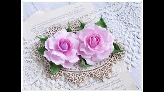 Download Foamiran Rose Tutorial with Spellbinders Die * Emilia Sieradzan * Video