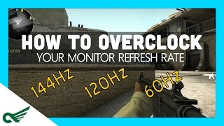 Download How to overclock your monitor (Increase your refresh rate! Hz) GOOD FOR GAMING! FREE! Video
