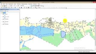 Download Layout ArcMap 1 - تعلم توجيه وتدوير الخريطة - تحديد حجم الخريطة - إختيار قالب الاخراج الفني Video