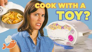 Download Can This Chef Make A 3-Course Meal With An Easy Bake Oven? • Tasty Video