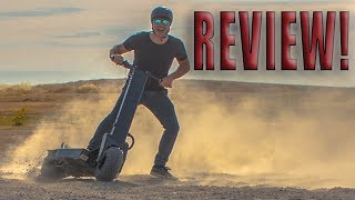 Download 40 MPH ELECTRIC SCOOTER IS DANGEROUSLY FAST!!! Review, ride, unboxing Works Electric Hollyburn P5 Video