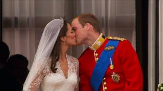 Download William and Kate Kiss on the Balcony - The Royal Wedding - BBC Video