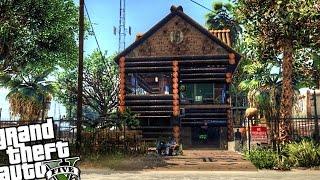 Download Custom Trevor's Log House - GTA 5 PC MOD Video