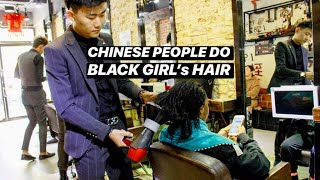 Download BLACK GIRL GETS HAIR DONE IN CHINA🇨🇳SHOCKING RESULTS Video