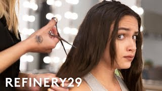 Download I Chopped Off 12 Inches Of Hair To Look Like Kylie Jenner   Hair Me Out   Refinery29 Video