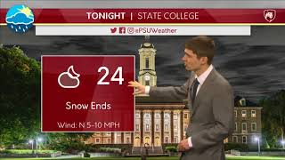 Download Andy Moffitt's Wednesday Afternoon Forecast (3-21-18) Video