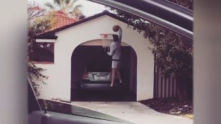 Download Dunking Teens Coming To A Driveway Near You with #DriveByDunkChallenge Video
