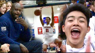 Download SHAQ watches Shareef O'Neal & YUUKI Come Up CLUTCH In Front Of Sold OUT CROWD!! Video