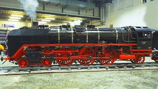 Download LIVE STEAM MODEL LOCOMOTIVES IN ACTION!! * REAL STEAM TRAINS, MODEL RAILWAY, RAILROAD Video