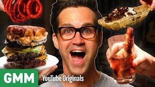 Download Bacon Only Meal Taste Test | Too Much Of A Good Thing? Video