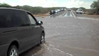 Download Driving through flash floods Video