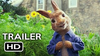 Download Peter Rabbit Official Trailer #1 (2018) Margot Robbie, Daisy Ridley Animated Movie HD Video