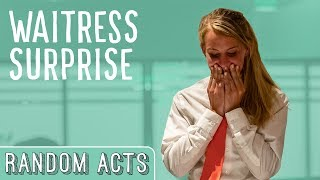 Download Strangers Tip a Waitress $4000! - Random Acts Video