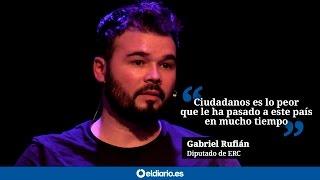 Download Rufián: ″Ciudadanos es lo peor que le ha pasado a este país en mucho tiempo″ Video