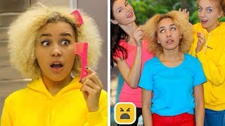 Download Problems Girls With Curly Hair Understand & Funny Facts! Girl DIY Life Hacks Video
