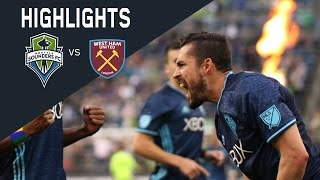 Download HIGHLIGHTS: Seattle Sounders FC vs West Ham United | Friendly Video