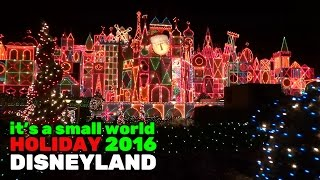 Download It's a Small World Holiday FULL RIDE during 2016 Christmas season at Disneyland Video