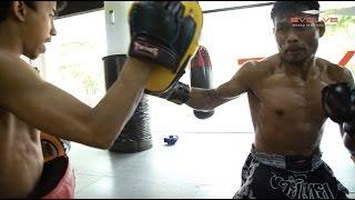 Download Train With WBA Boxing World Champion Yodsanan Sityodtong | Evolve MMA Video