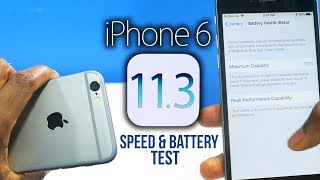 Download iOS 11.3 on iPhone 6: NEW Features, Speed & Battery Test! Video