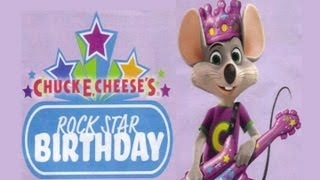 Download Chuck E. Live - CEC Rock Star Birthday Video