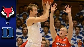 Download Duke vs. Marist Men's Basketball Highlights (2016-17) Video