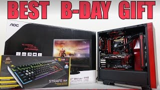Download Surprised Brother on B-Day with Full Gaming PC Setup (VLOG #15) Video