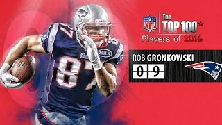 Download #09 Rob Gronkowski (TE, Patriots) | Top 100 Players of 2016 Video