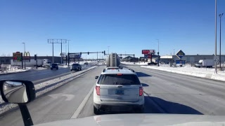 Download BigRigTravels LIVE! Dickinson to Fargo, North Dakota Interstate 94 East-Feb. 21, 2018 Video