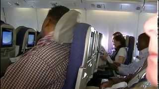 Download Brussels airlines take off from Brussels to Nairobi 2015 Video