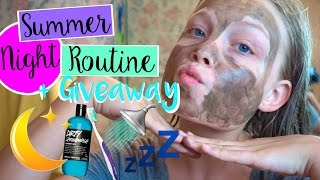 Download Summer Night Routine + GIVEAWAY Video