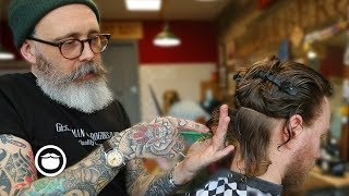Download Master Barber Transforms a Traveler from New Zealand's Style Video