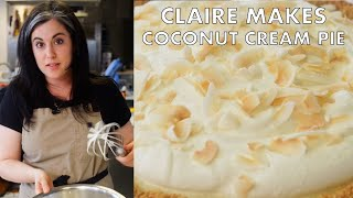 Download Claire Makes Coconut Cream Pie with Four Kinds of Coconut | From the Test Kitchen | Bon Appetit Video