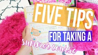Download Five Tips for Taking a Summer Course ♡ Tips & Tricks Video